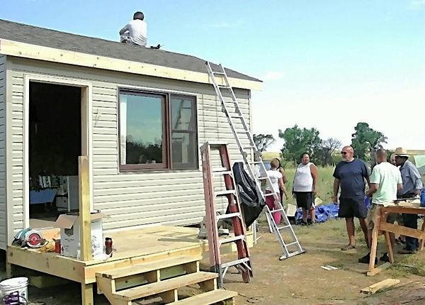 helping pine ridge residents