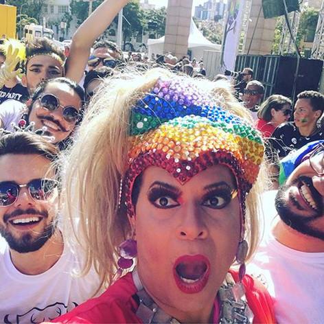 20 parada gay de BH com Kayete