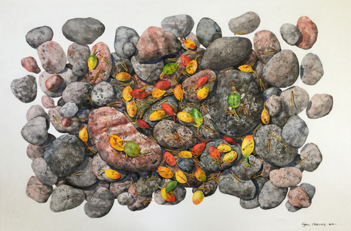 Rocks and Leaves #138
