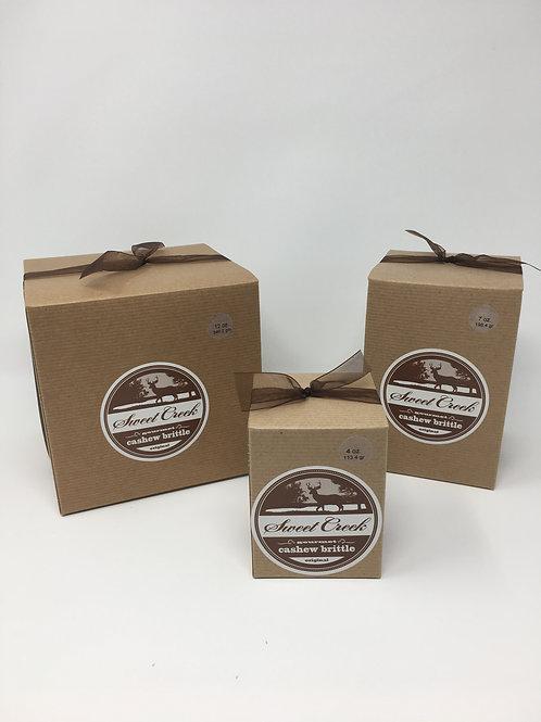 4 oz Box Cinnimon Brittle