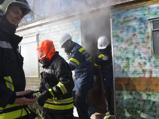 Osterübung der Feuerwehrjugend