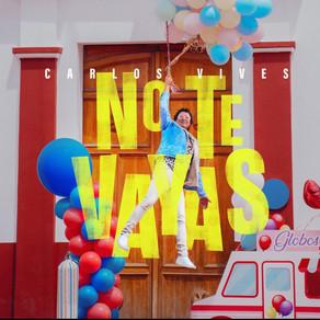 """Carlos Vives lanza """"No te Vayas"""" su nuevo éxito musical."""