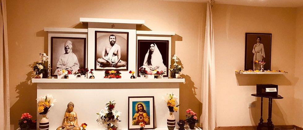 Shrine at Nivedita House, Dublin