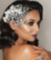 Great Gatsby inspired Bridal look modell