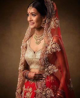 My beautiful May bride Priya ! What an a