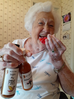 Grandmom even loves the hot sauce