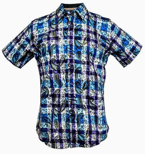 Buttons Down Shirts Style #2215 (Case of 8 Pcs)