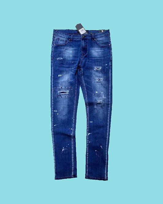 Men's Fashion Jean Style #19619 (Pack of 12 Pcs)