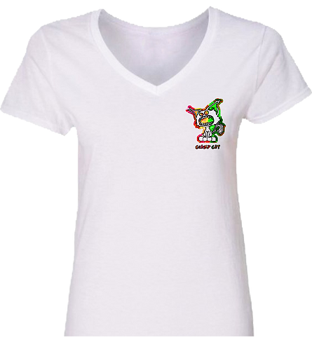 Crazy Cat By Addesso Women Signature T-Shirt