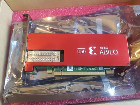 MicroZed Chronicles: Setting Up Alveo U50