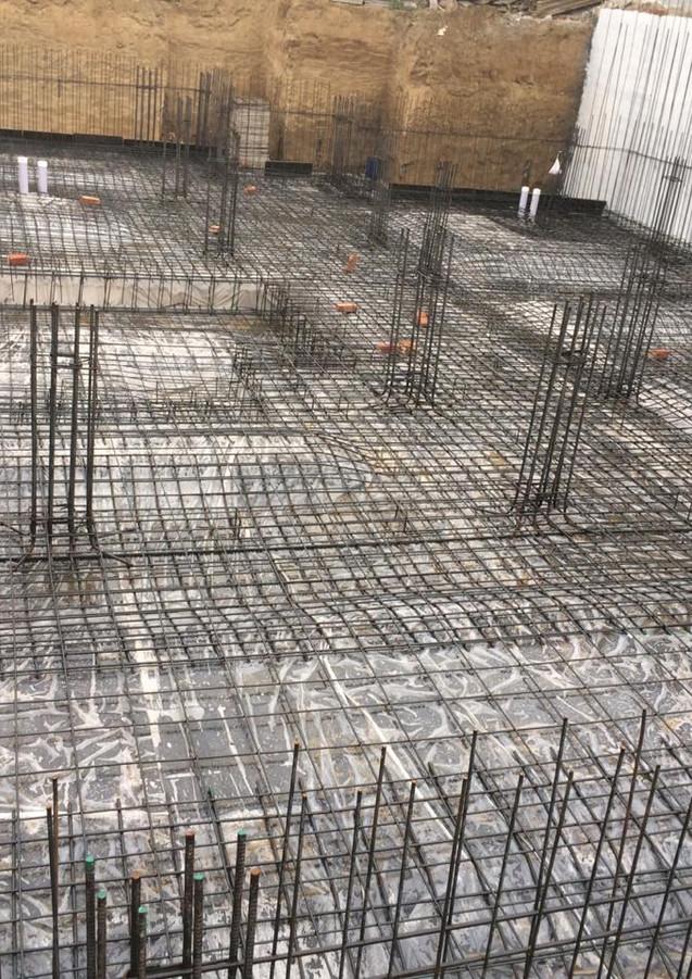 Steel fixing on-site