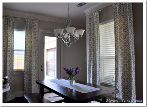Hang Curtains Close to the Ceiling