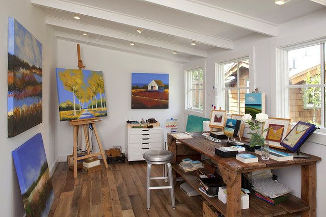 Social Distancing Ideas-Private Painting Space