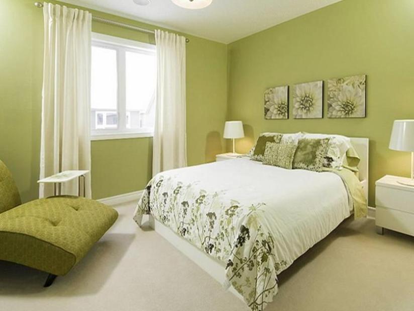 Interior Paint Ideas-Fresh Green Paint