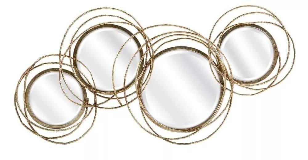 Circular plane mirror