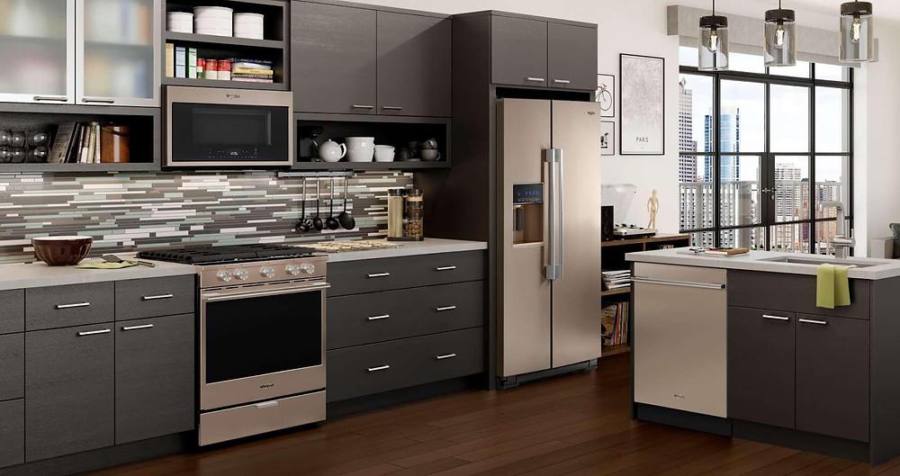 Kitchen design idea for casual chefs