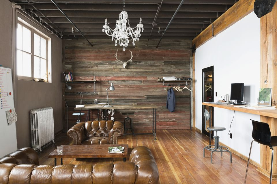 Simple Finishes-A Prime Feature of Industrial Style House