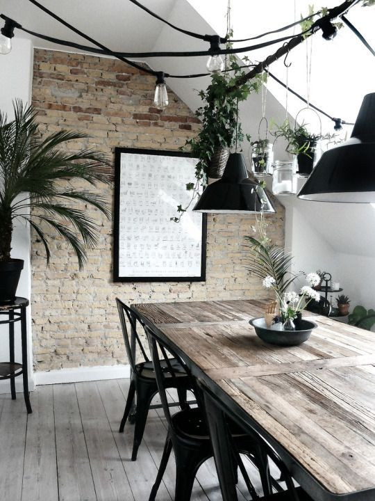 Bare Walls in Industrial Style