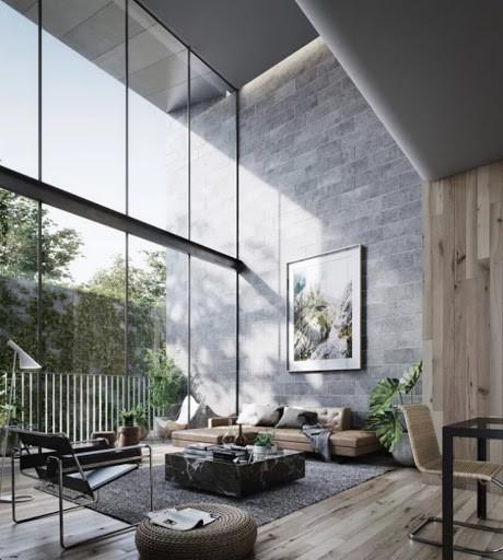 Minimal Interior Details of Living room