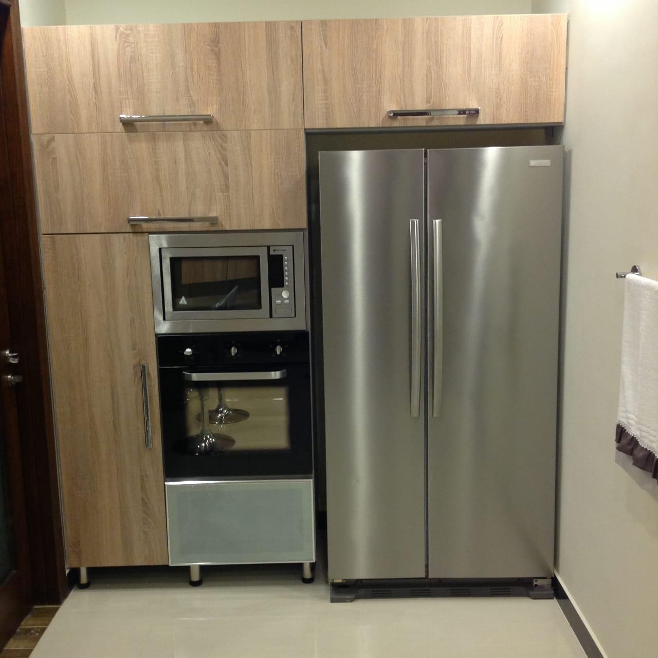 Appliances in kitchen