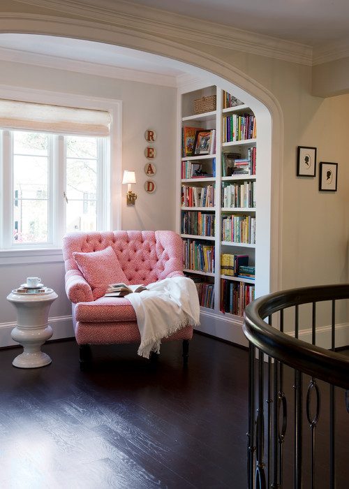 Social Distancing Ideas-Reading Corner in House