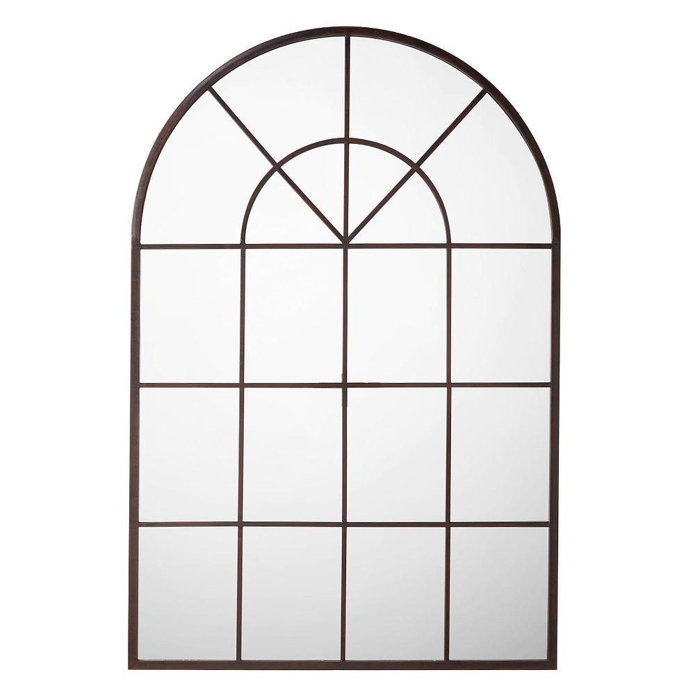 Arched window mirror design