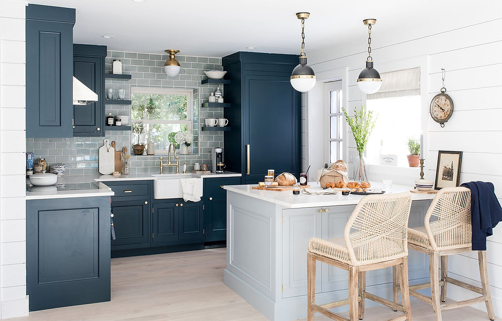 Coastal Style Kitchen Design
