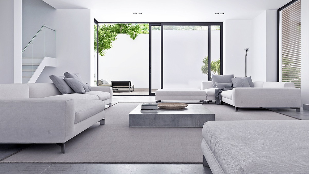 Low Profile furniture gives a feel of high ceiling