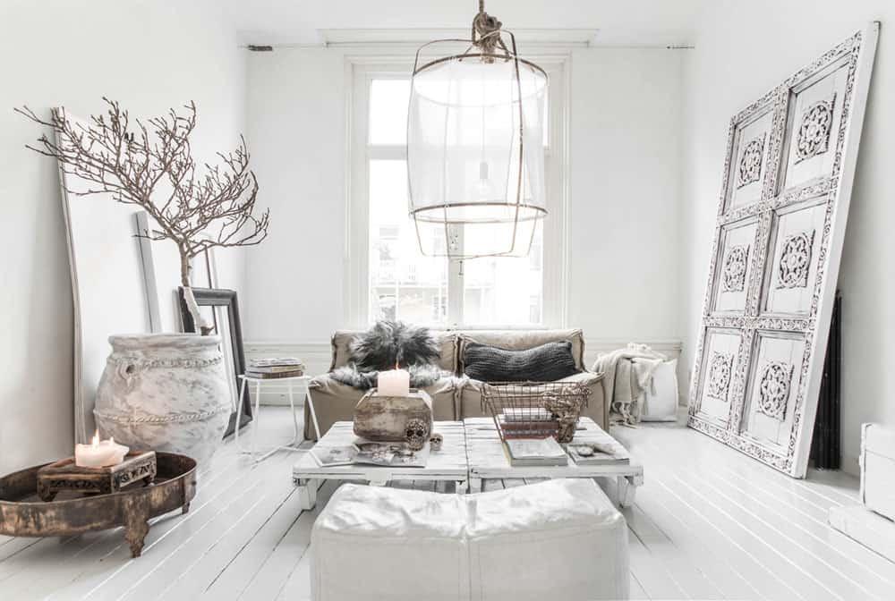 Interior Paint Ideas-A gorgeous White Paint Interior