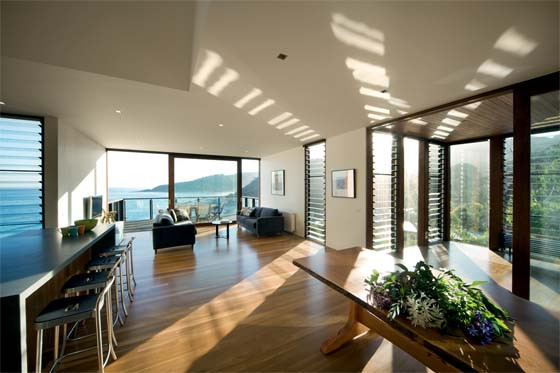 Good penetration of natural light into the house