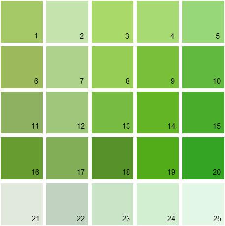 Interior Paint-Green Tones