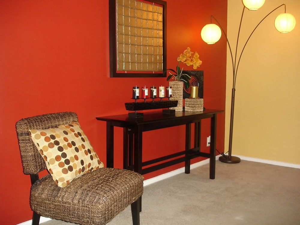 Interior Paint Ideas-Red Paint