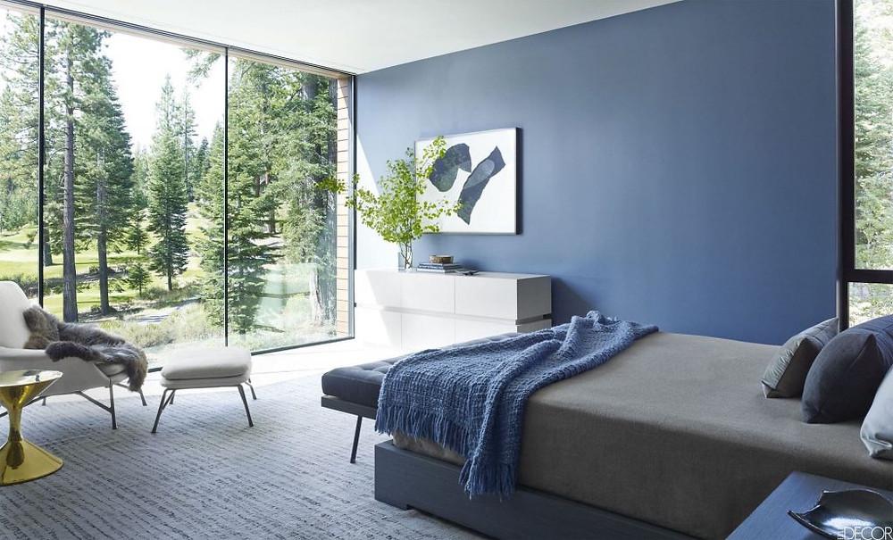 Interior Paint-Blue Color Palette
