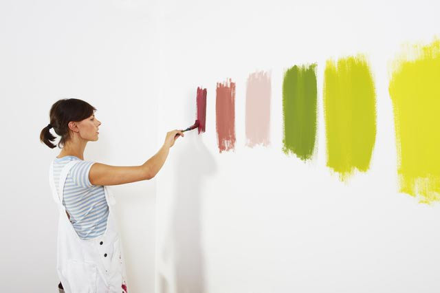 Wall Paint Color Testing