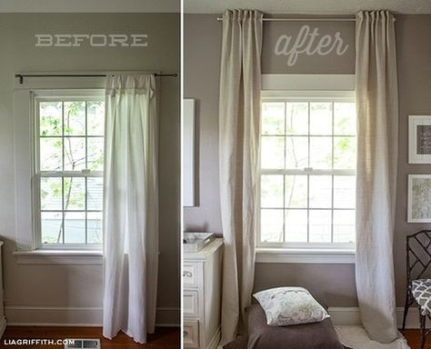 Window Treatments for Low Heighten Ceilings