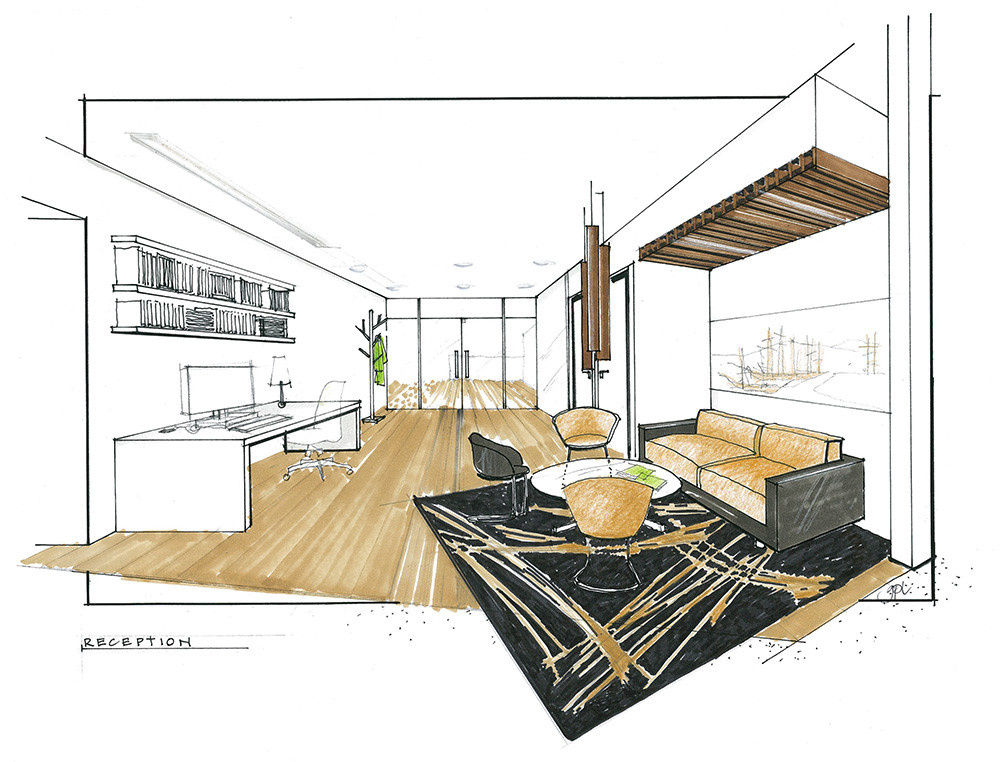 Interior understands the purpose of the space and design accordingly