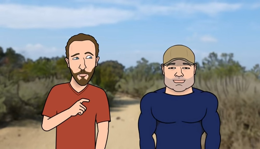 JRE Toon - The Twelve 12-Year-Olds Moment