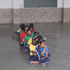Yavatmal_ Kids waiting for their screeni