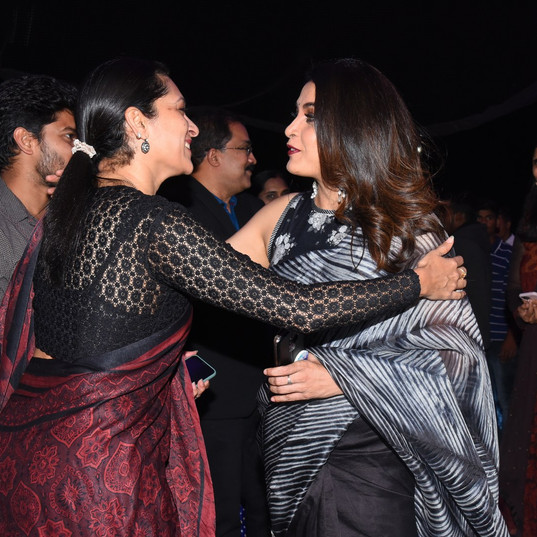 Ms. Prashanti embraces Ramya Krishnan