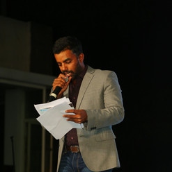 Master of Ceremony for the evening- Mr. Sumanth