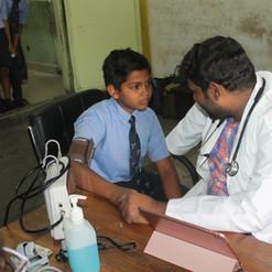 Davangere_ Pediatrician check