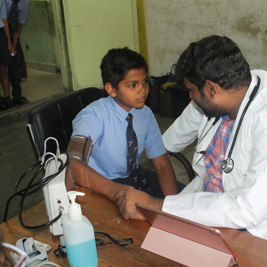 Davangere_ Pediatrician check