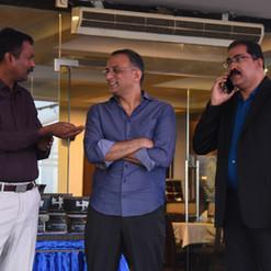 Mr. Shobu with CEO, Dr. Satish