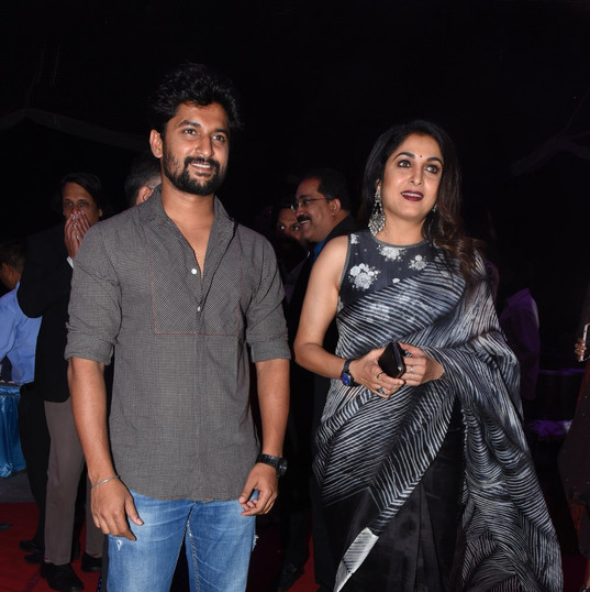 Nani and Ramya Krishnan