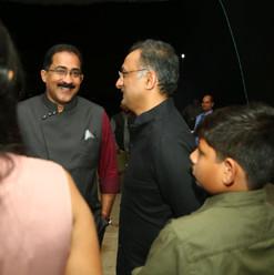 Dr. Satish and Mr. Shobu