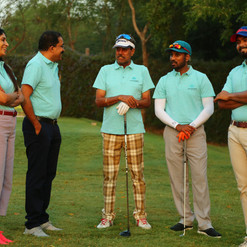 A light moment between Mr. Kapil Dev, Dr. Satish Ghanta, Ms. Madhavi Chalasani, Mr. Sanjay Gaddipati