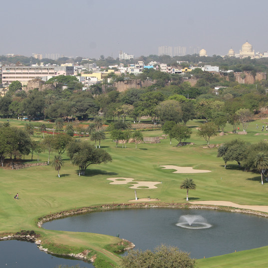 View of the course
