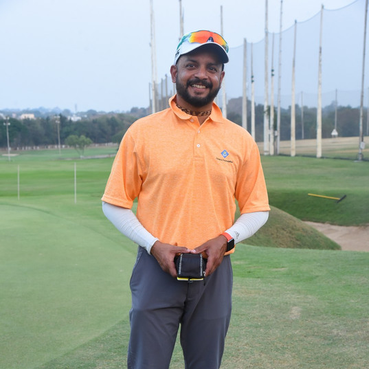 Mr. Murali Karthik, Golfer/Formaer Indian Cricketer