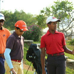 Junior Champs play their part
