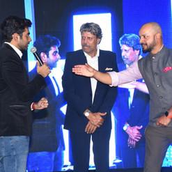 Mentalist Chiraj Jethwaney mesmerising Kapil Ji and Murali Karthik